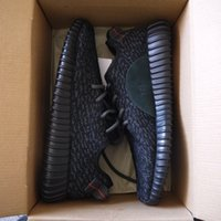 Wholesale 20 off New with box running shoes Moonrock Pirate Black turtle dove oxford Tan Shoes Men s Women s kanye west boost shoes