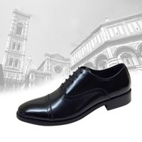 Wholesale nice dress men s shoes superior leather upper nice leather finished