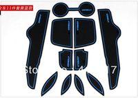 auto carpet padding - Toyota Corolla Gate Slot Pad Door Mats Carpets Cup Cushion Auto Accessories k