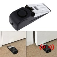 alarm travel - High Quality Door Stop Alarm Wireless Home Travel Security System Portable Safety Wedge