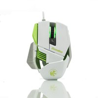 Wholesale Computer accessories mouse ghosts ax X1 gaming mouse notebook mouse Internet creativity led mouse