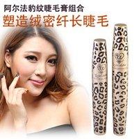alpha security - Genuine security Alpha Love Alpha Leopard lash mascara long combination of dark fiber
