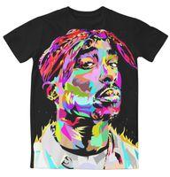 sublimation shirt - Real USA Size Tupac D Sublimation print T Shirt Plus size
