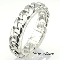 big braceletes - Braceletes mm Silver BIG COOL L Stainless Steel High Quality mens jewelery pulsera music BB684