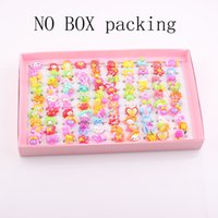 resin lucite - New Jewelry Adjustable Lucite Resin Hello Kitty Cartoon Children Rings Kids Girl Ring Jewelry ZR42