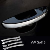 Wholesale New Chrome Stainless Steel Handle Cover For VW VolksWagen Golf Factory
