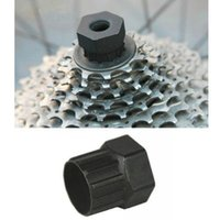 Cheap Bicycle Cycling Cassette Flywheel Rotating Freewheel Lockring Remover Repair Restore Tool Bycicle Tools Cycling Tools A2