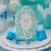 best christmas ideas - Best Selling Fashion European style wedding invitation invitation invitations Custom invitations Blue invitations Marriage idea For Wedding