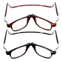 Wholesale Neck hung the elderly special reading glasses Magnetic reading glasses degree fold belt glasses he new reading glasses