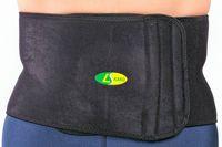 adjustable waist belt - Adjustable Back Support Belt Brace Strap Pain Relief Posture Waist Trimmer Gym Waist Supportors Elastic Breathable Waist Pads Slimming Fitne