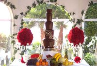Wholesale stainless steel commercial Commercial chocolate fountain
