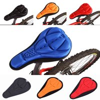 Wholesale Comfortable Soft Bike Saddle Pad Outdoor Sports Bicycle Seat Cover Bike Cushion Colors Choose ZYV