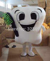 dental costumes - Brand New tooth mascot costume party costumes fancy dental care character mascot dress amusement park outfit