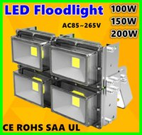led floodlights - 2015 Hot Sales W W W W W W Outdoor Waterproof Led Floodlights Warm Cool White IP67 Led Flood Lights AC V Free