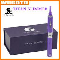 Wholesale Titan Slimmer Vaporizer Herbal Vaporizer Titan Starter Kit mAh Rechargeable Battery ohm thread VS Snoop Dogg G Pro