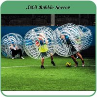 Wholesale m Inflatable human bumper bubble soccer ball toys PVC loopy ball body zorb ball football Bubble