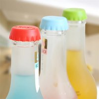 Wholesale Silicone Bottle Tops Stoppers Corks Reusable Caps Stocking