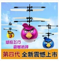 Wholesale 2016 New Arrival Electronic drone Toys Flying Birds RC auto reaction control Helicopter UFO Ball VS Ar mini drones toy gift freeshipping