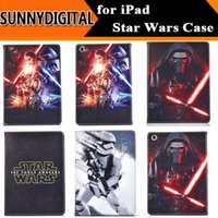 air force war - The Force Awakens Star Wars Darth Vader Stormtrooper Cases Folio Folding Stand PU Leather Cover Pouch for iPad Air Air2 Mini