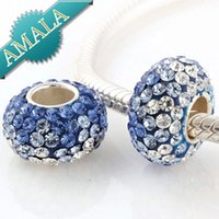 Cheap Crystal Crystal Beads Best Holidays, Seasonal Blue Charms Bracelets