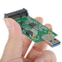Wholesale SMAKN USB to Mini PCIE mSATA SSD mSATA to USB SSD don t need USB cable