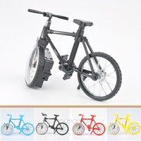 Wholesale 2015 New Creative Retro Vintage Bicycle Bike Style Decoration Alarm Clock for Living Room Bedroom Gift Childen Kids FYJJ141