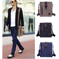 best mens messenger bags - NEW Mens Causal Business Messenger Bags uk Male Clear Stylish Design Retro Italian Bags Canvas Best Gifts Bag