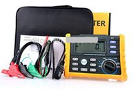 Wholesale HYELEC MS5910 RCD Loop Tester Multimeter for GFCI Loop Resistance Testing