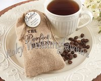 baby shower candy bags - quot The Perfect Blend quot mini burlap drawstring wedding baby shower muslin candy favor gift bag linen candy bag