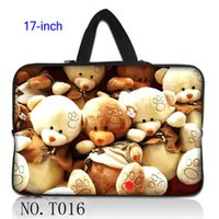 bear hide - Teddy Bear Laptop Bag Case Cover Sleeve Hide Handle For quot Notebook Computer PC