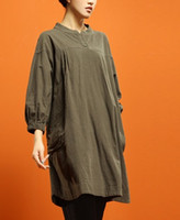 Wholesale 2016 spring product launches original design cotton linen loose big yards of women s T shirt three color t550