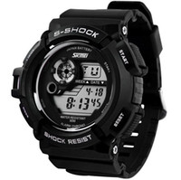 Men's acrylic rubber - New G Style Digital Watch S Shock Men military army Watch water resistant Date Calendar LED Sports Watches relogio masculino