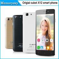 Recensioni Cubot-<b>Cubot</b> origial X12 quad core mtk6735 Lollipop 1G di RAM 8G ROM 5.0 pollici Android 5.1 4G LTE FDD ips GPS OTG ultra sottile LN smart phone 010.022