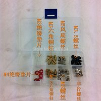 Wholesale DIY Computer Accessory Kit M3 M3 screw screw Packed hand tighten the screw pillars M3M4 insulation pads order lt no track