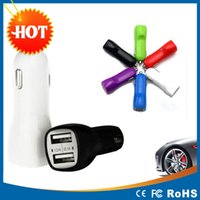 andrews cars - A and A Dual USB port Car charger Andrews dual usb car phone charger mini car charger bullet car charger