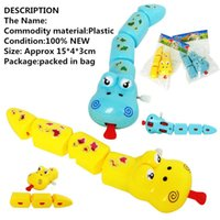 ability works - Intellectual development Clockwork toys Wind Up educational Toys Snake Improve Baby s Start work Ability baby Toys set