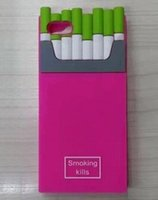 Wholesale 2015 Hot New Arrival Smoking Kills Cigarette Case for iPhone S s Plus smoke case