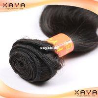 Wholesale Fashion real natural human hair weave natural wave Indian human hair weft no shedding no dyed hair extension CB86