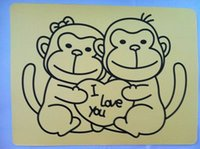 Wholesale Sticker cards for sand art A4 size