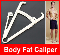 accurate equipment - New Body Fat Caliper Keep Slim Body Measure Caliper Personal Body Loss Fat Caliper Tester Accurate Measure Fitness Equipment
