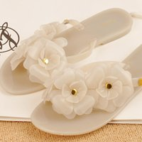 Wholesale Spot new melissa Melissa jelly shoes camellia sandals women sandals and slippers Slipper