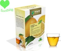 Wholesale Hot Sale herbal Teabag To Keep Vitality As Lemon Ginger Tea Bag Powder Natural Diet Blended With Lemon Ginger Green Tea Drop Shipping