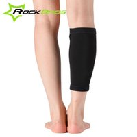 Wholesale ROCKBROS Breathable Adults Outdoor Sports Shin Guard Elastic Leg Support Protection Shank Pads Black