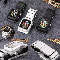Wholesale AW020 LYNK Band for Apple watch mm mm butterfly closure Metal Aluminum WatchBand Wrist Strap case For Apple IPod Nano th