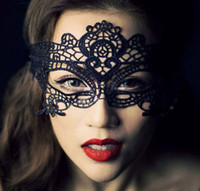 Wholesale Party masks Venetian lace Halloween masquerade Mask Lace Halloween Mask Sexy Carnival Dance Mask cosplay fancy wedding gift DHL free shippin
