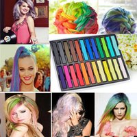 Wholesale New Colors Set Non toxic Temporary Hair Colors Hair Care Styling Tools Packaged in Box