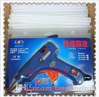 Wholesale hot melt glue gun in English EU Plug glue sticks mm P