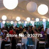 Cheap paper lanterns party deco Best led light decor