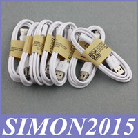 Micro USB Universal White 1M 3Ft Micro Sync Data USB Cable Charging Cords Charger Wire Line for Samsung Galaxy S2 S3 S4 S6 Edge Sony 5 6 LG HTC Nokia All Phones