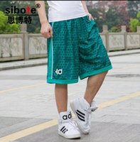 Wholesale Fashion summer brand KD sport gym basketball shorts bermuda men short trousers loose running mens shorts plus size XL